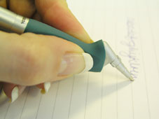 Using the Yoropen is great for left-handers