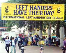 Internatrional left handers day what is it all about