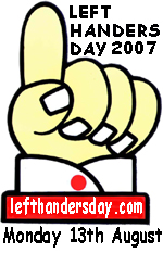 Left-Handers Day logo