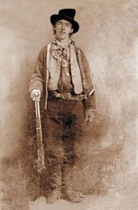 Billy The Kid - not really left-handed