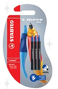 Stabilo S Move Easy Blue + Dk blue