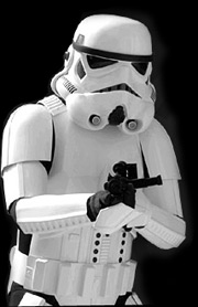 left-handed stormtrooper