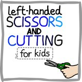 Left handed cutting and scissors guide