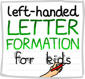 Letter formation guide