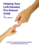 Left handed pre school kids guide