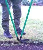 left handed lawn edging shears
